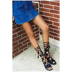 Free People Mesa Verde Gladiator Sandals